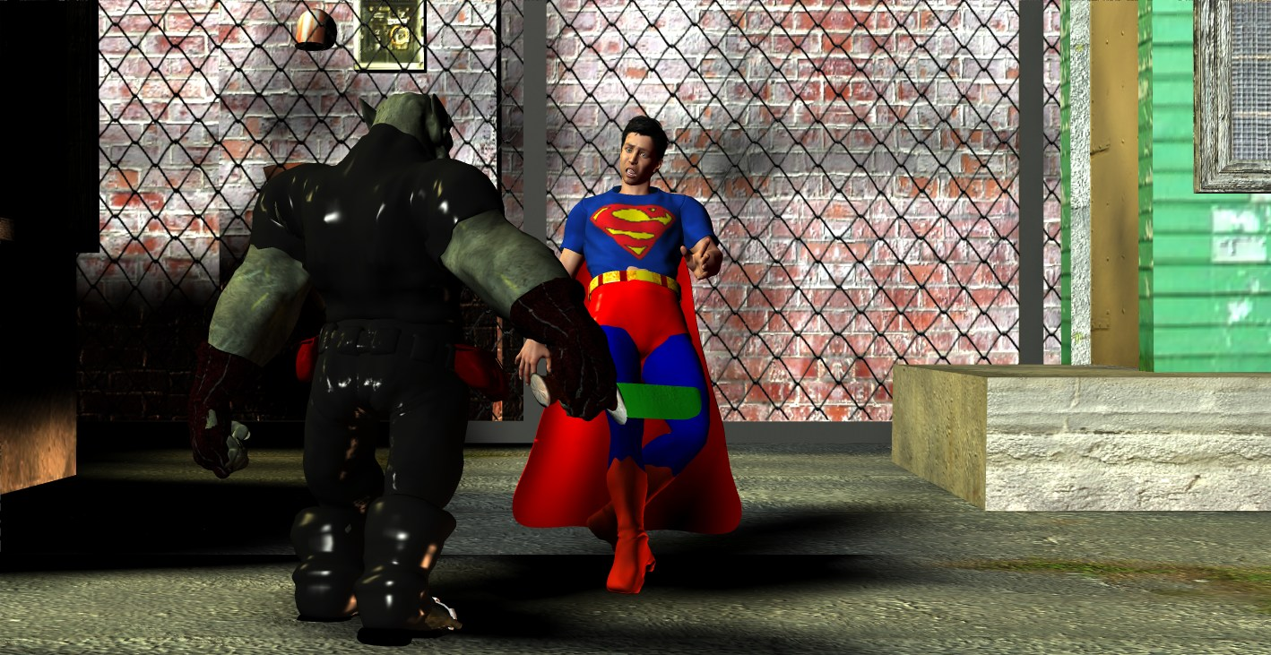 Superboy Trapped
