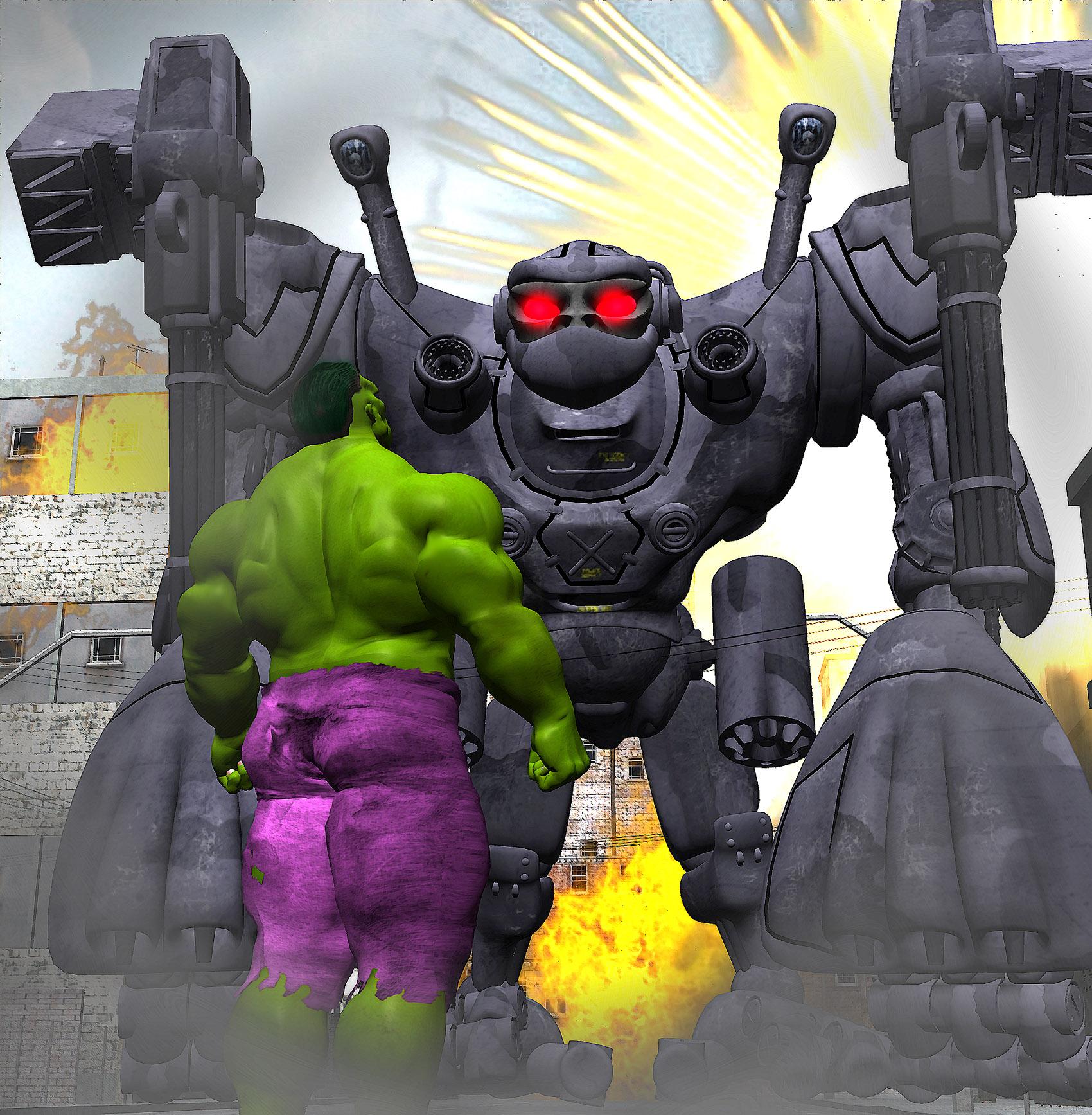 big metal monkey not stronger than hulk