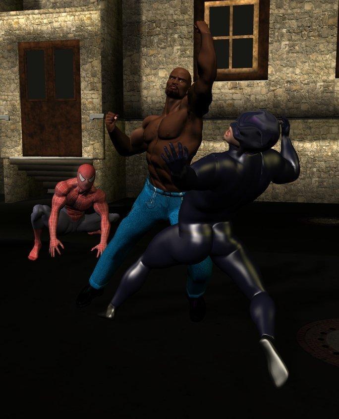 power man vs. wildcat