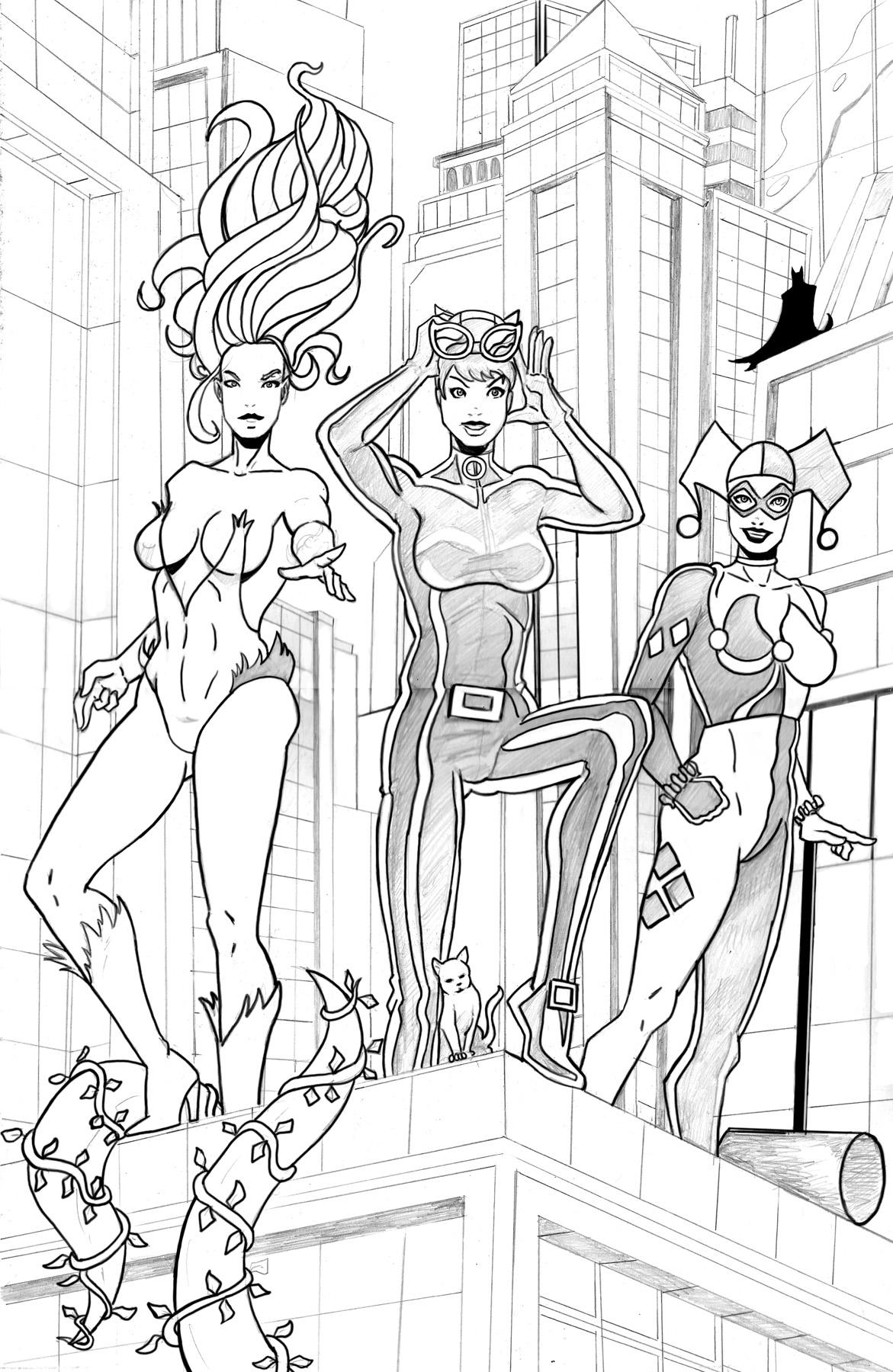 Gotham City Siren Mock Cover