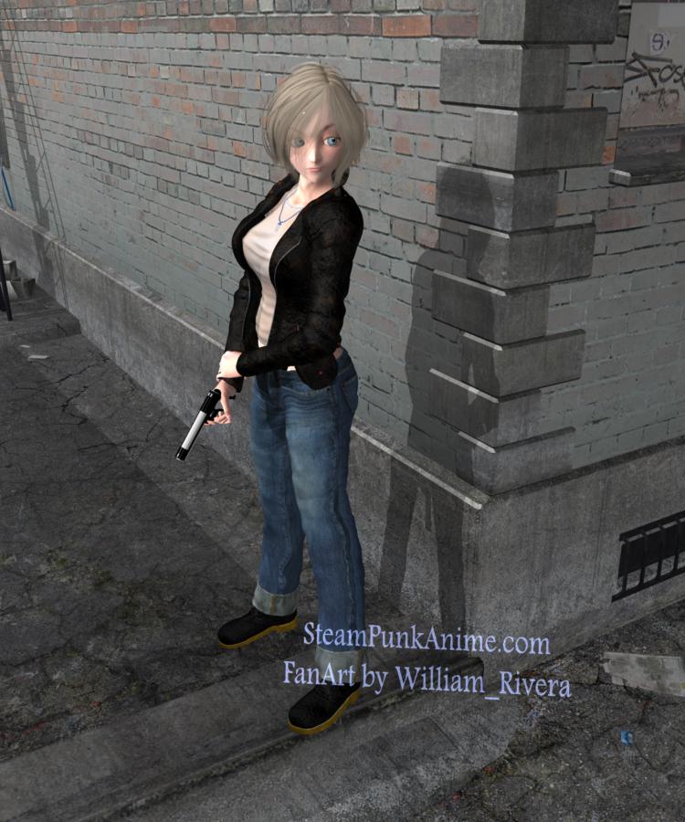 Aya Brea 3D