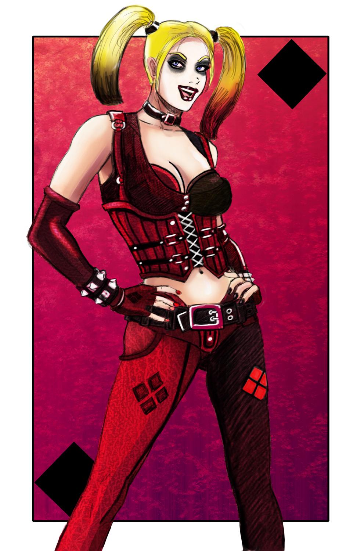 Arkham City Harley