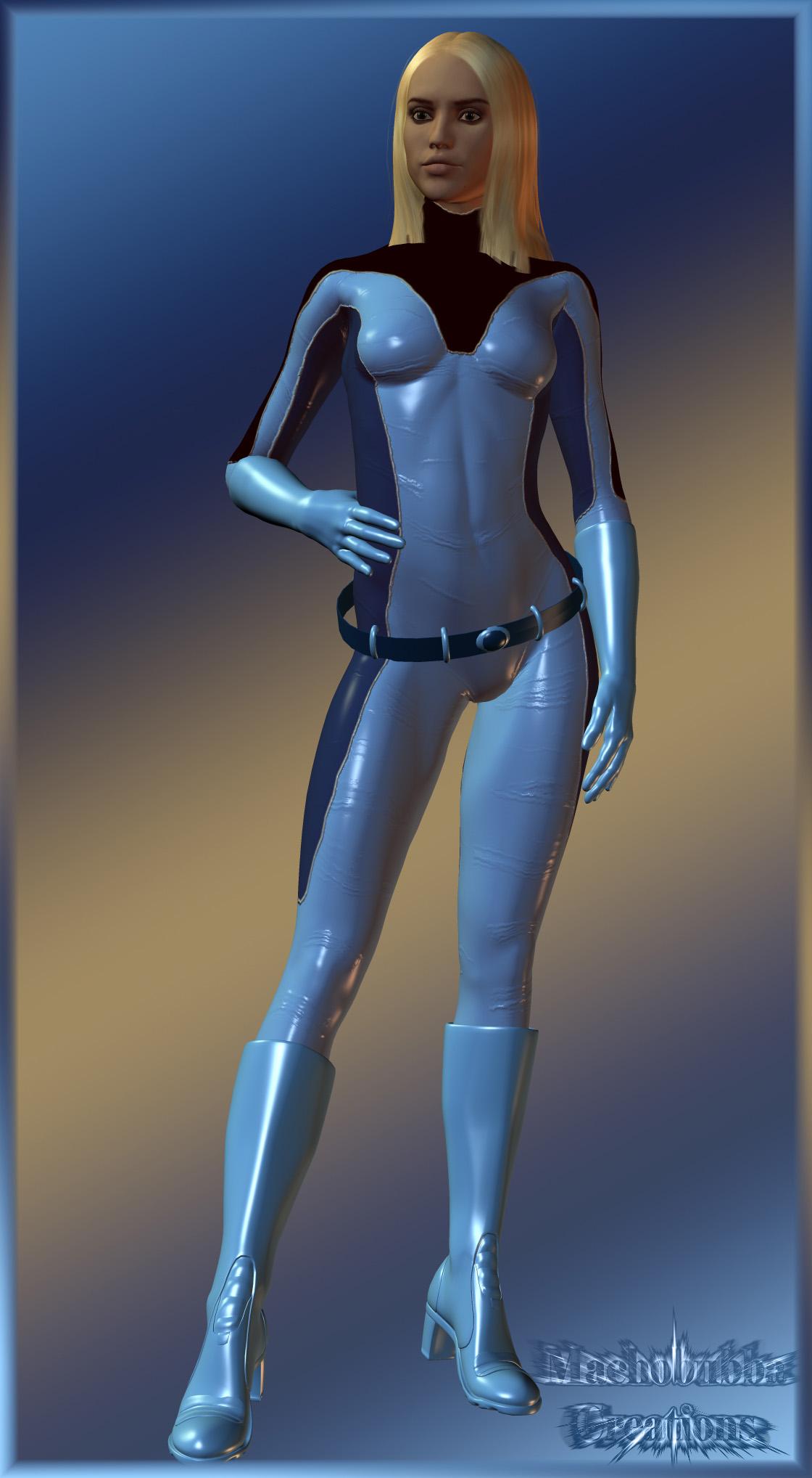 Jessica Alba As Invisible Woman...