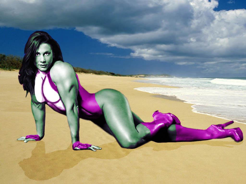 The Avengers: The Sensatonal She-Hulk