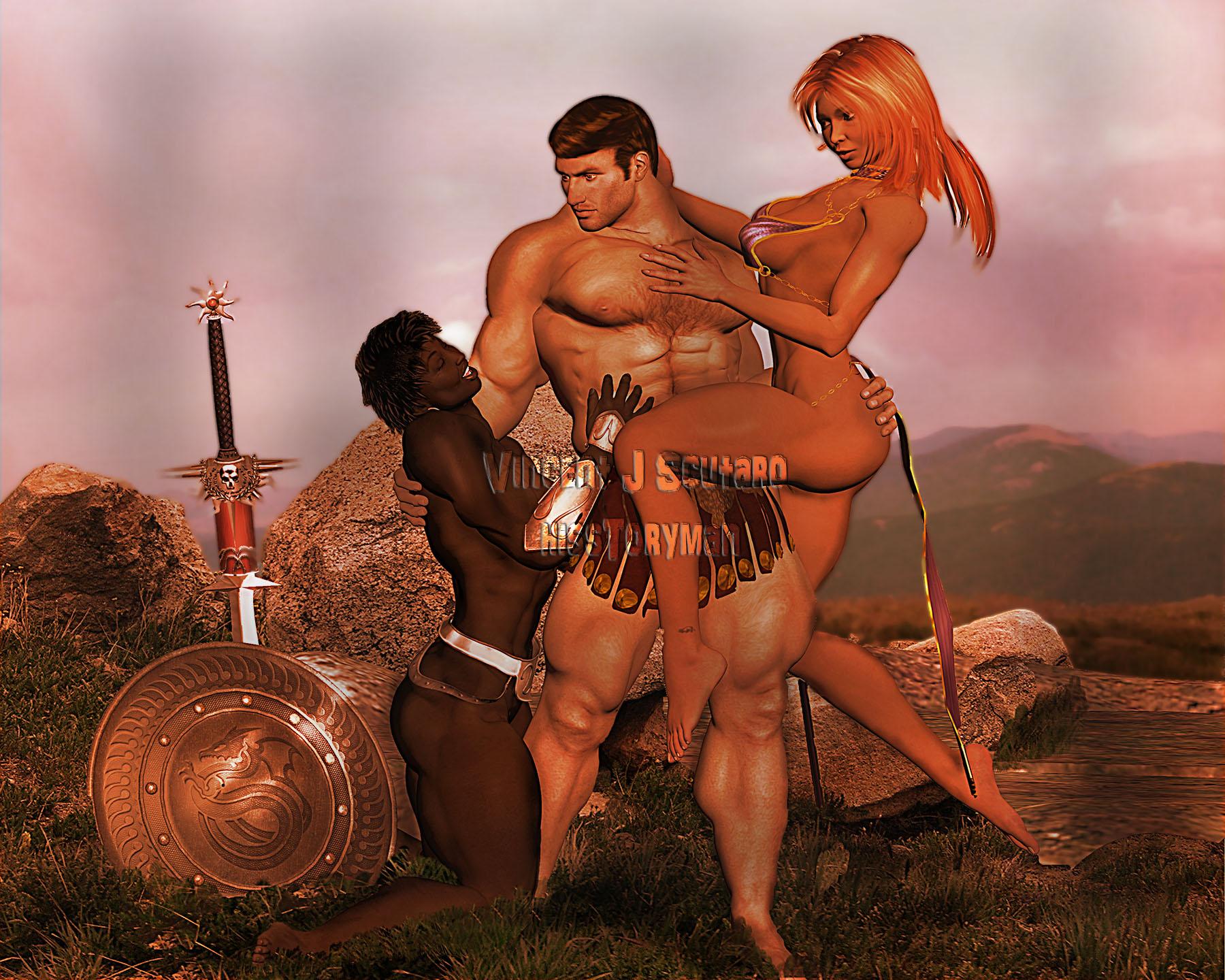 Aranthur's Saga: The Sisterhood Cover Print