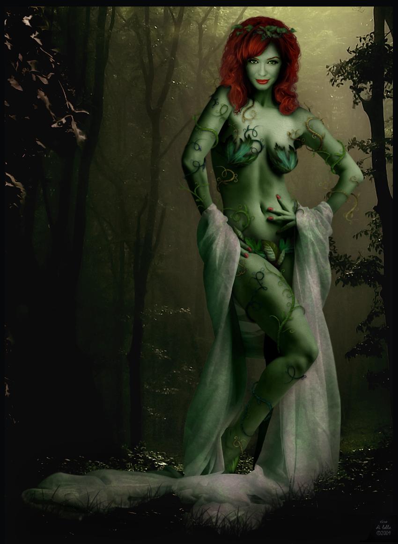 Christina Hendricks as Poison Ivy