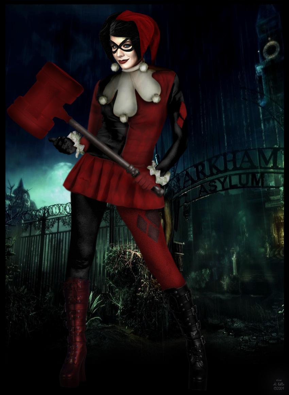 Kristen Bell as Harley Quinn