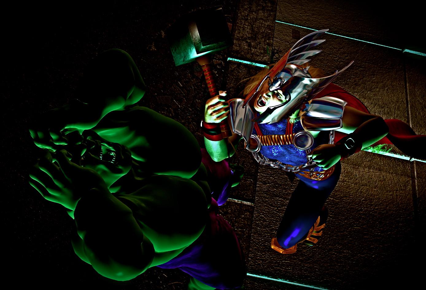 Thor v. Hulk