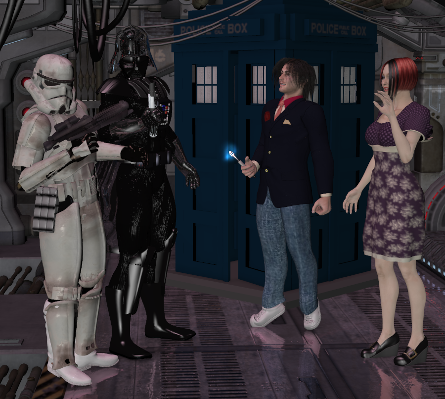 """The Doctor in """"OH SITH!"""""""