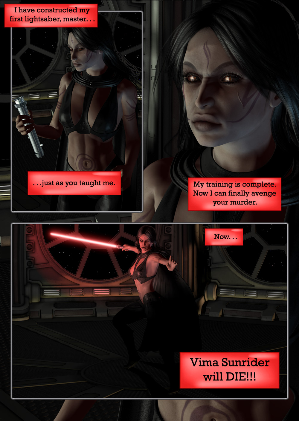 Birth of a Sith:  Darth Malefice