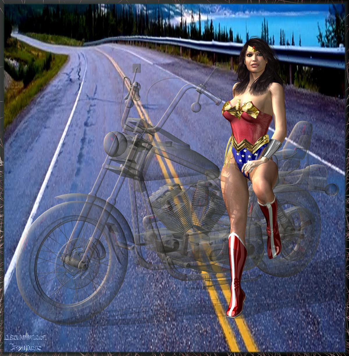 Wonder Woman Portrait...