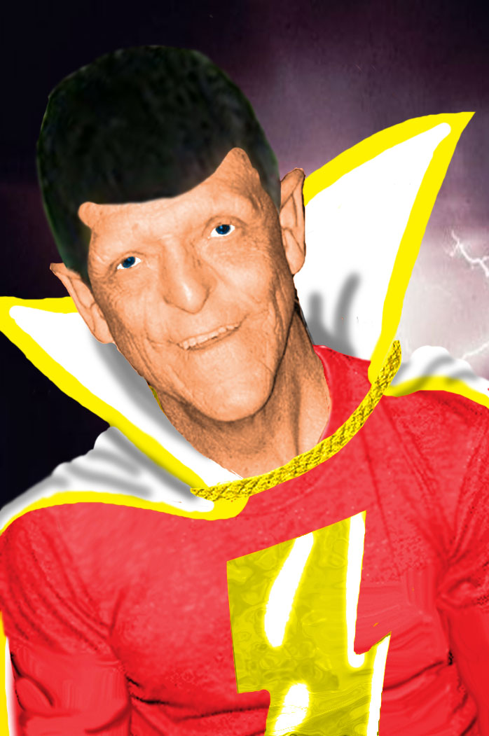 Bad Casting...Michael Berryman as Captain Marvel