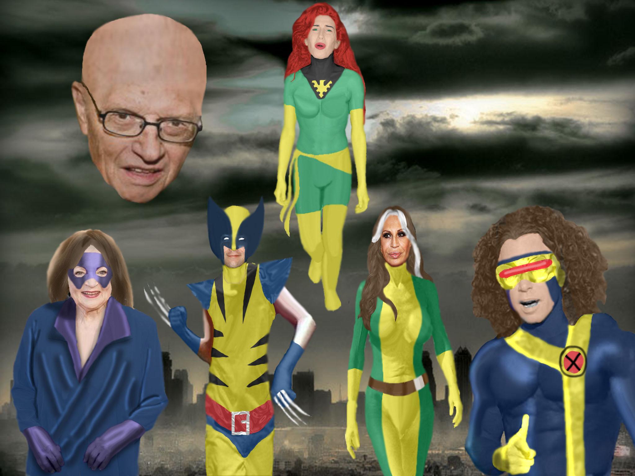 Bad Casting...The X-Men