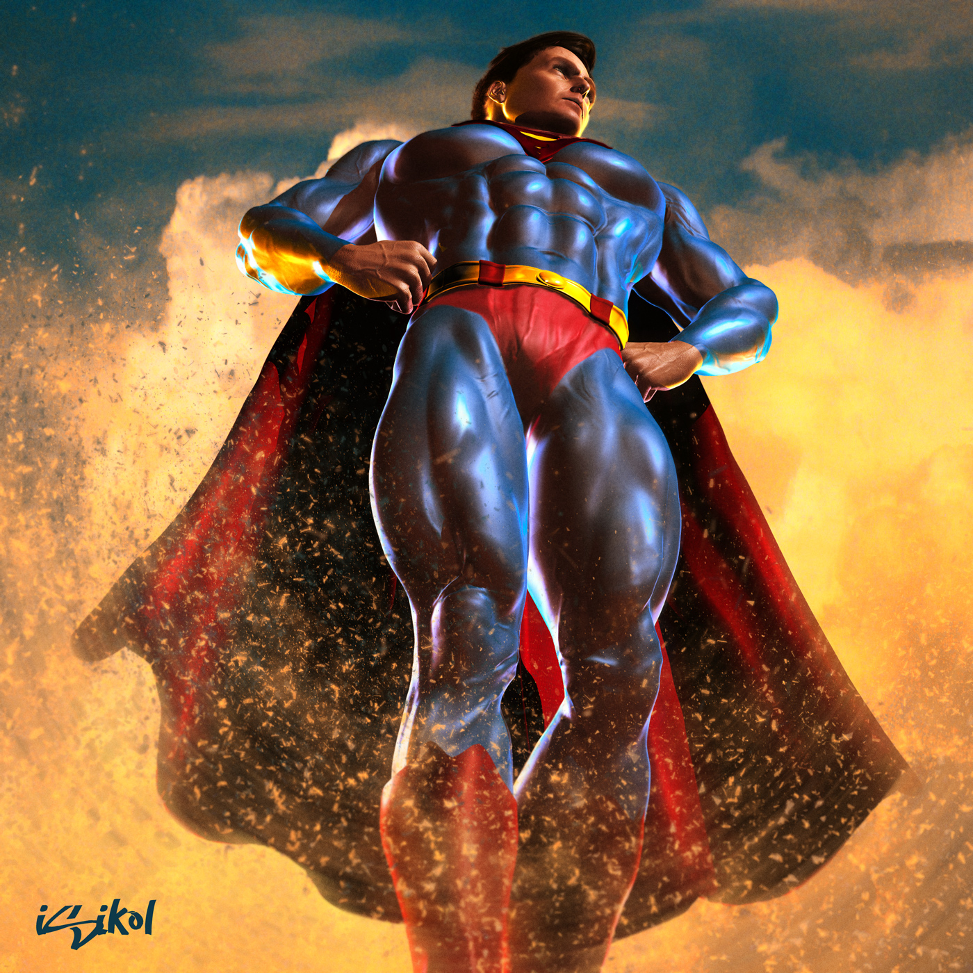 Powerful Superman
