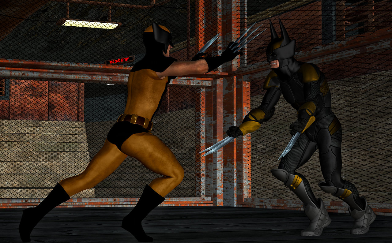 Dark Claw vs Wolverine