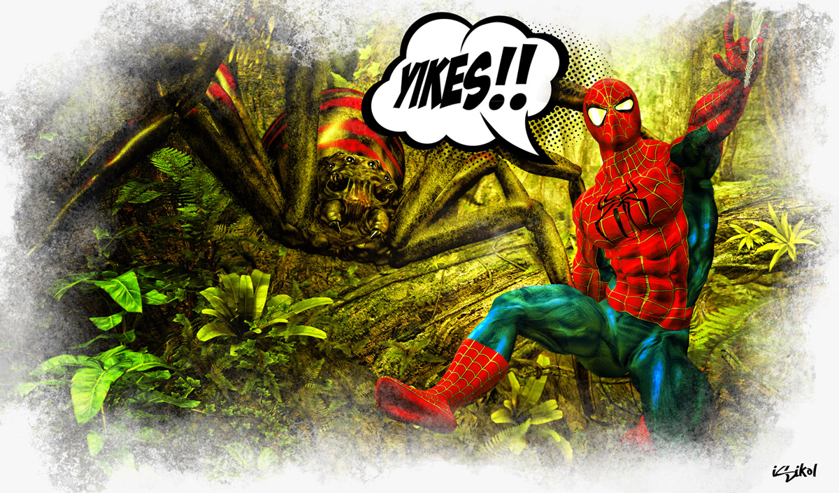 Itsy Bitsy Spider...