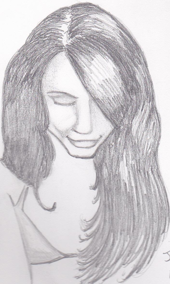 Downward smile