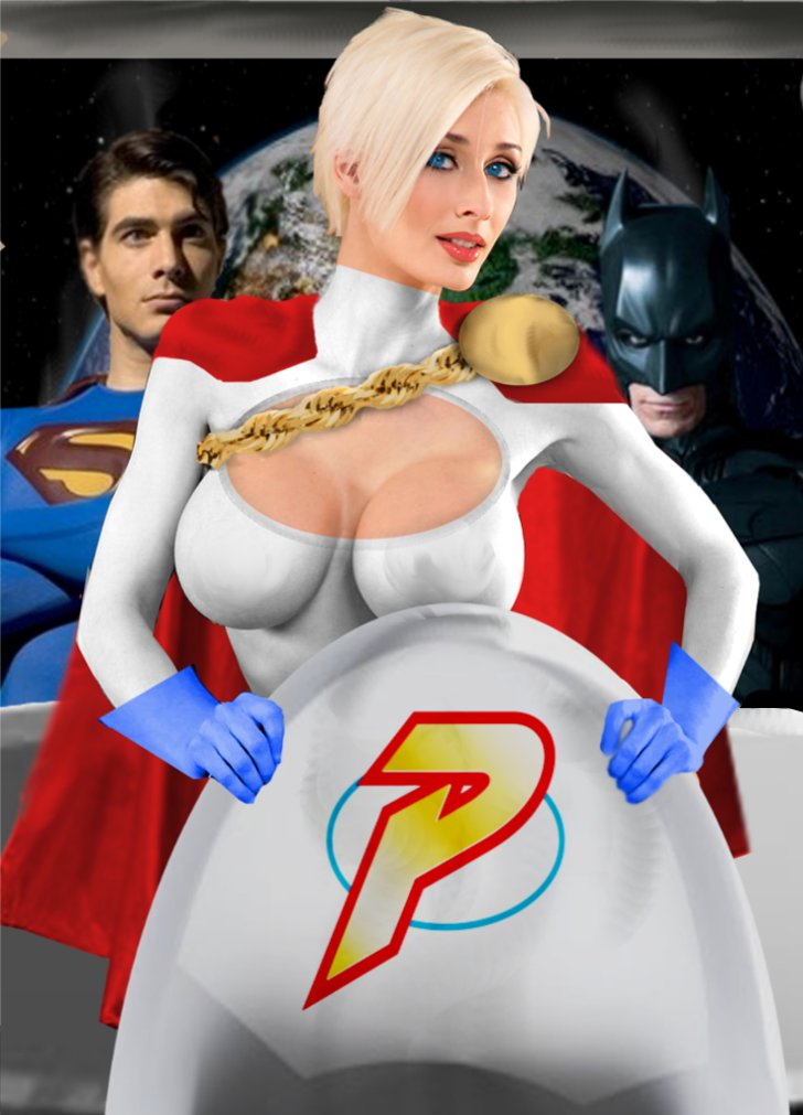 Powergirl joins the big Leagues