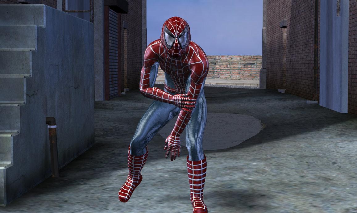 spiderman in fuga