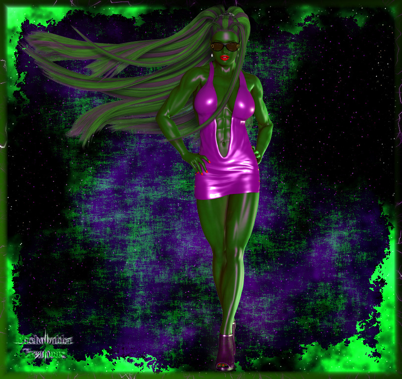 Just Another She-Hulk... This Time Shiny...