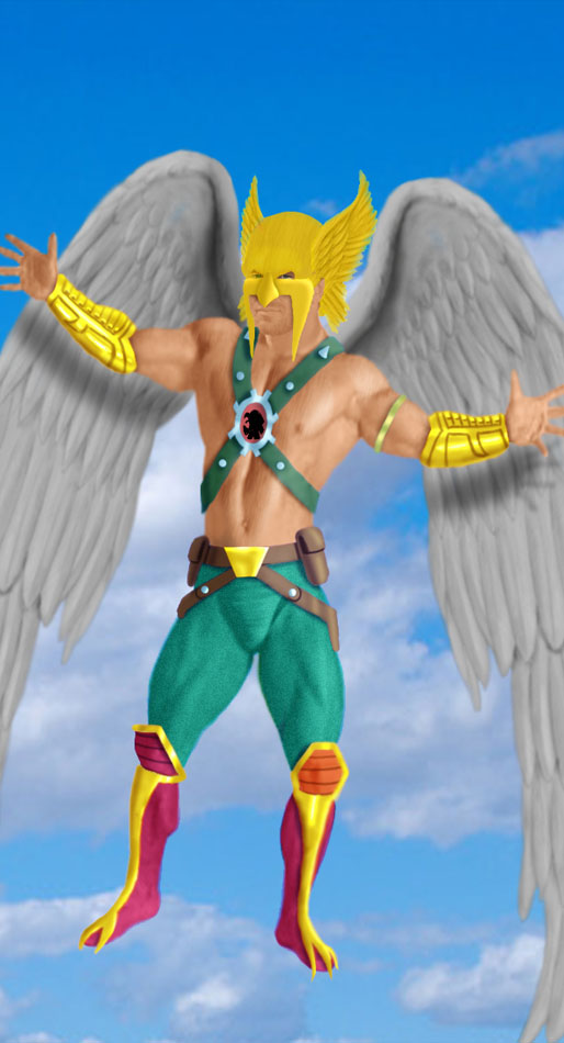 The Justice Society of America: The Hawkman