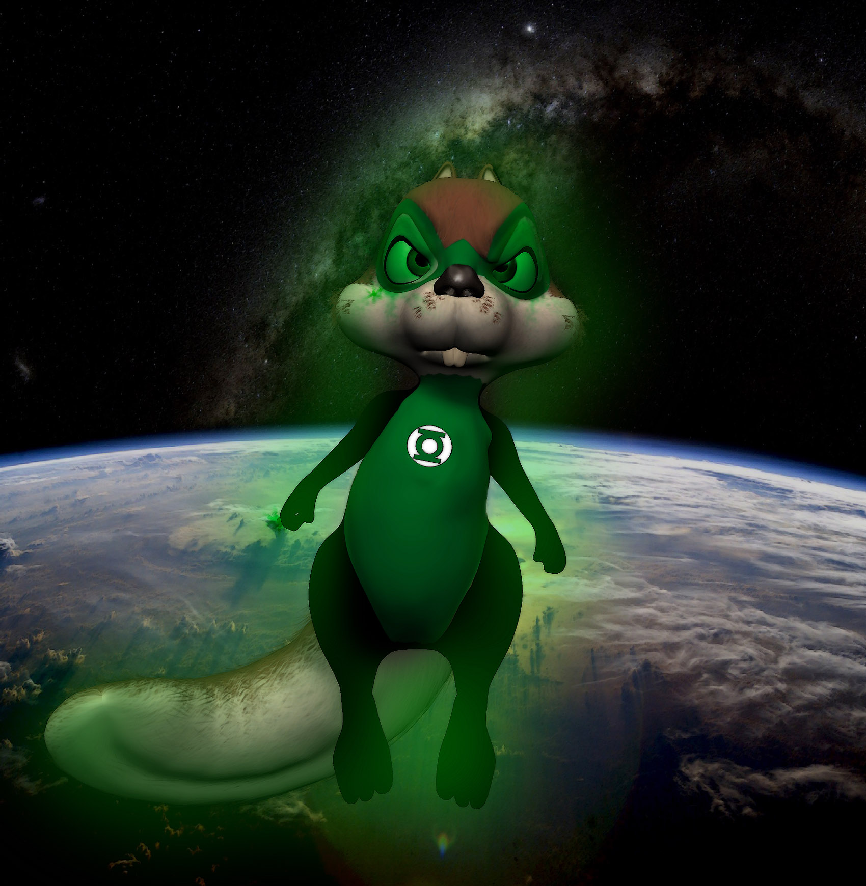 ch'p Green Lantern of sector 1014