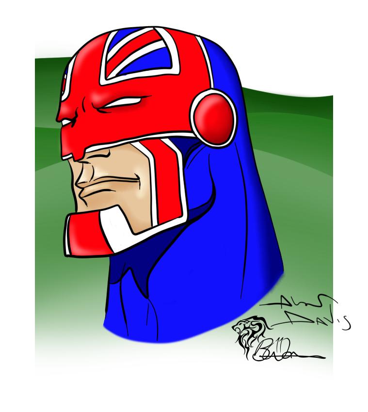 Captain Britain (After Alan Davis Sketch)