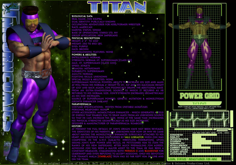 Unicorn 30 in 30-Day Four-Titan