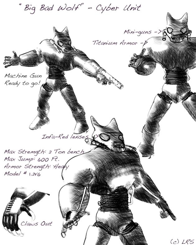Big Bad Wolf Cyber Unit