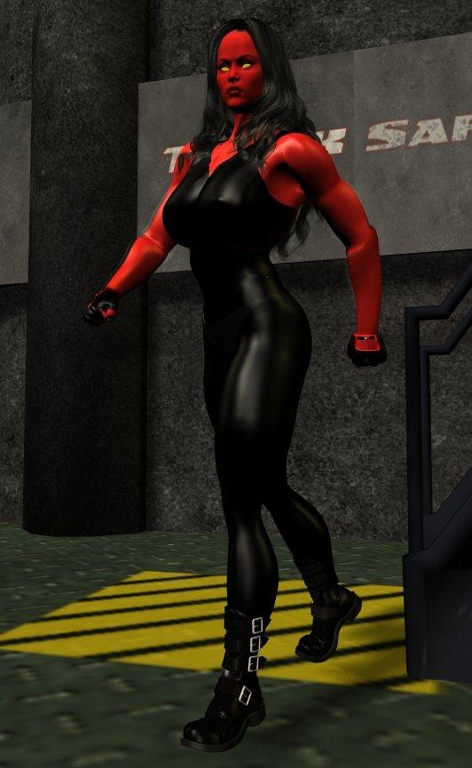Red She Hulk