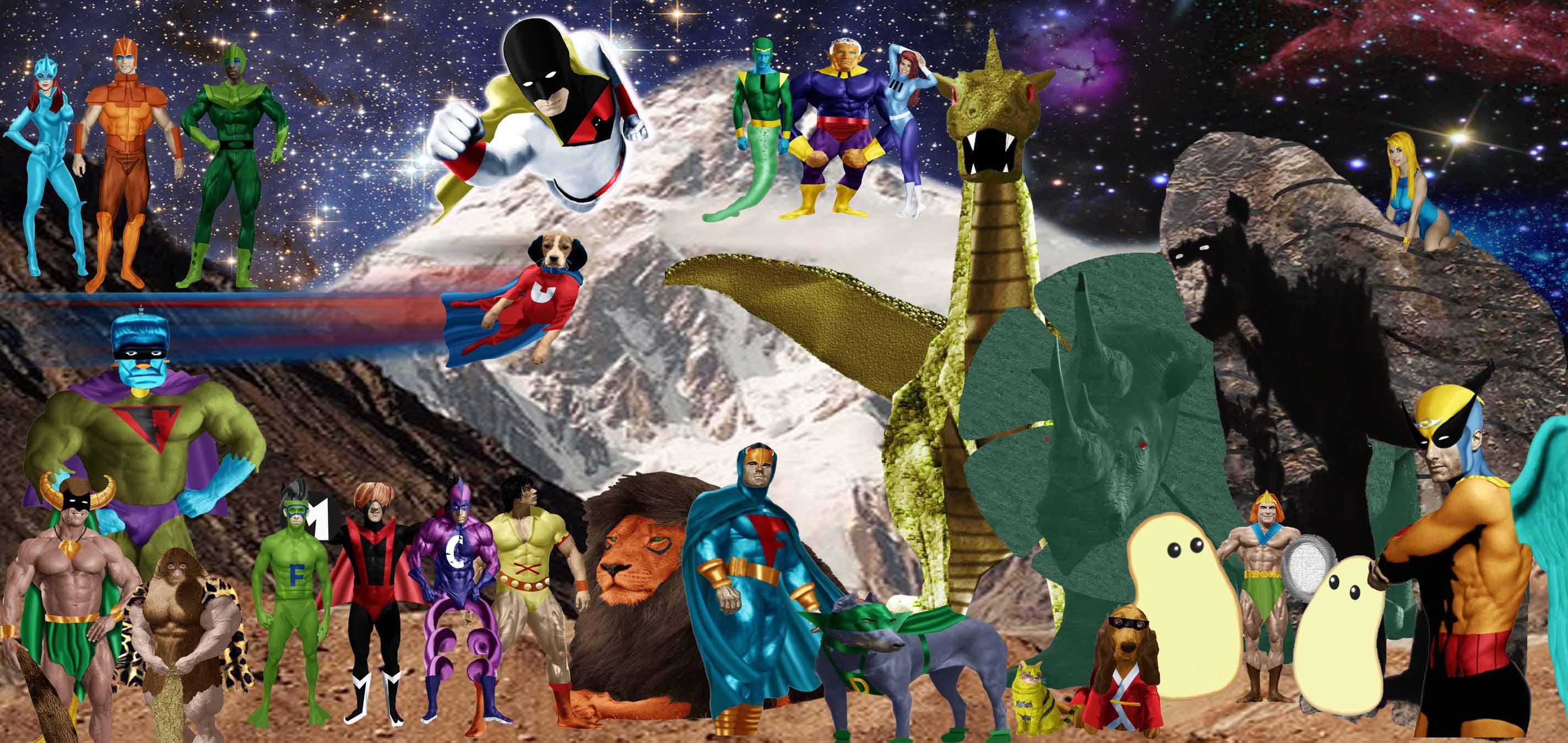 Hanna Barbera Superheroes