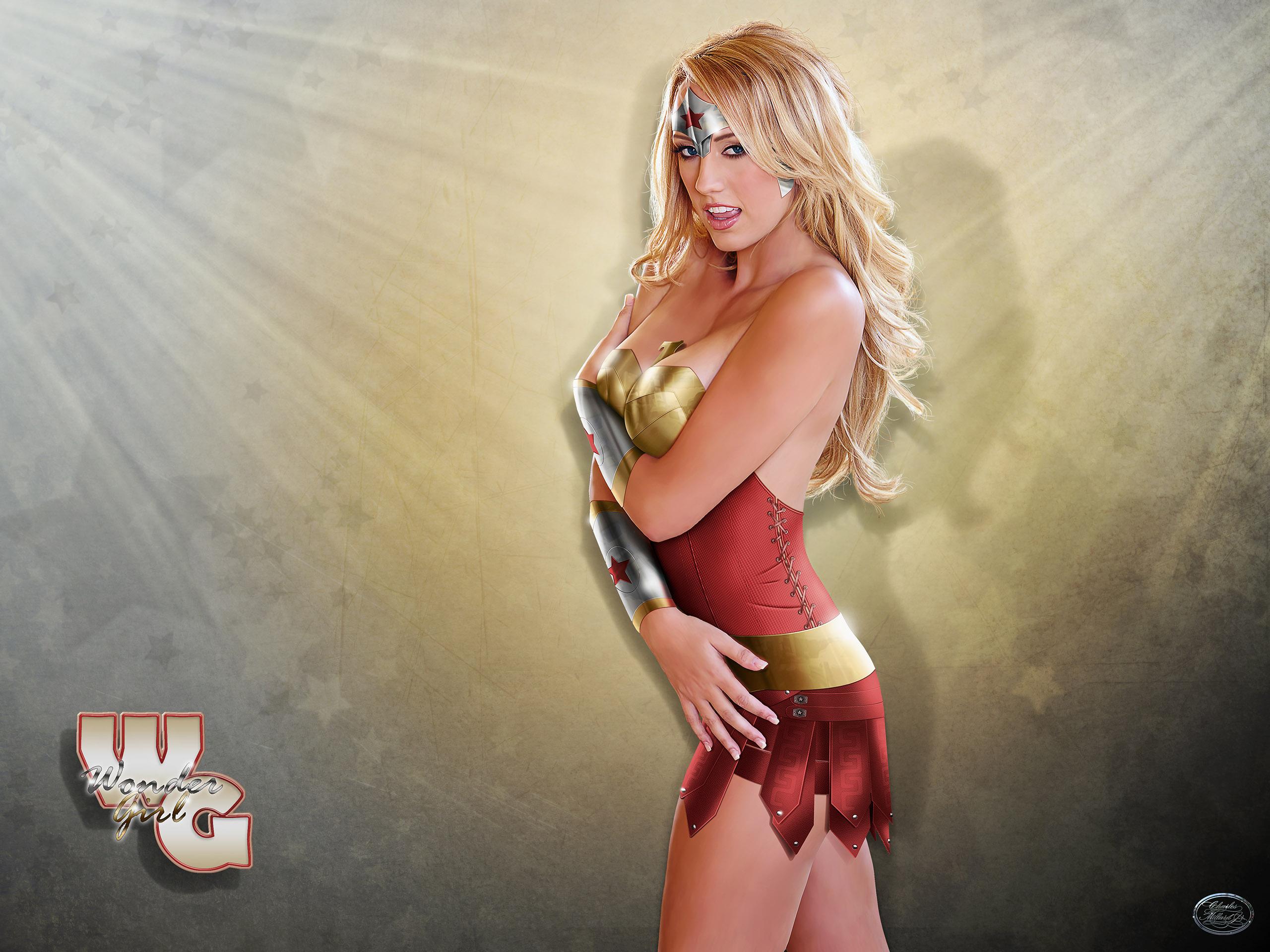 Wonder Girl 2 - Cassie in Armour
