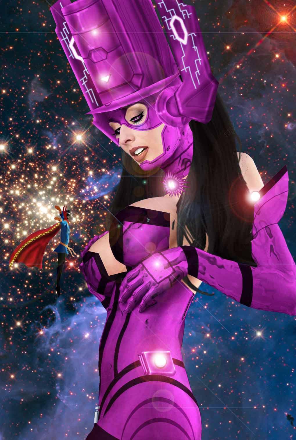 Comics Cosmic Heavies: Galacta