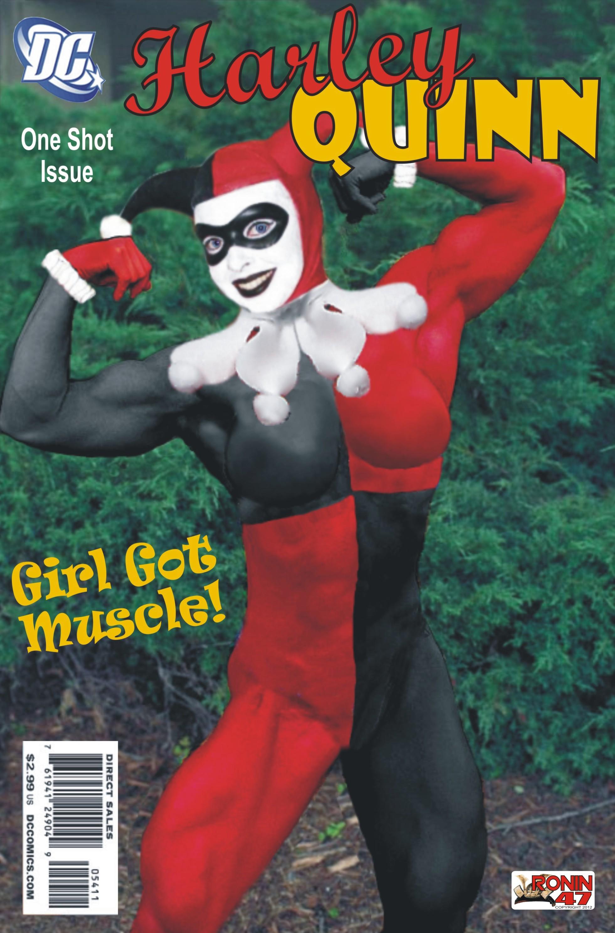 Harley Quinn Comic Cover