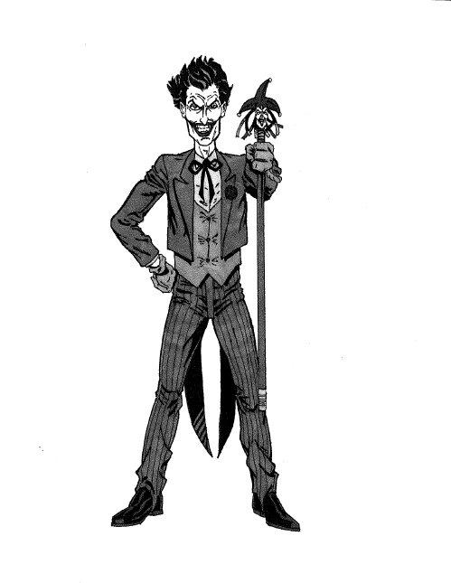 batman sketchbook#1: the joker