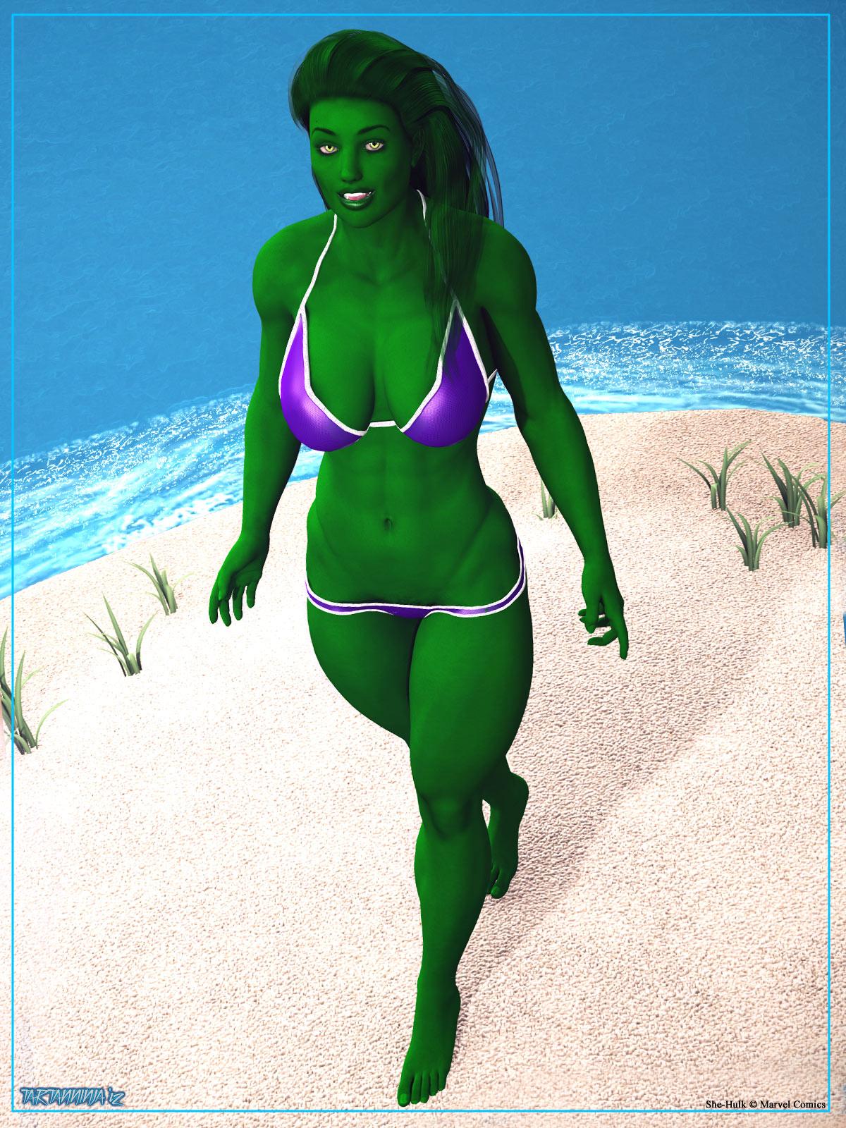 Summertime: She-Hulk