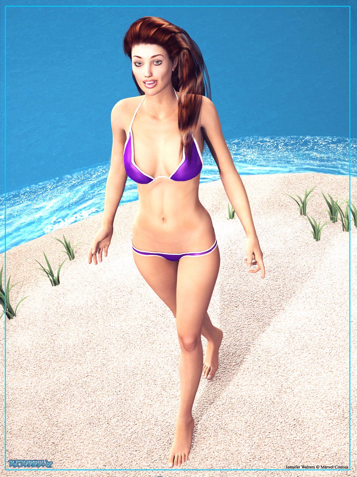 Summertime: Jennifer Walters