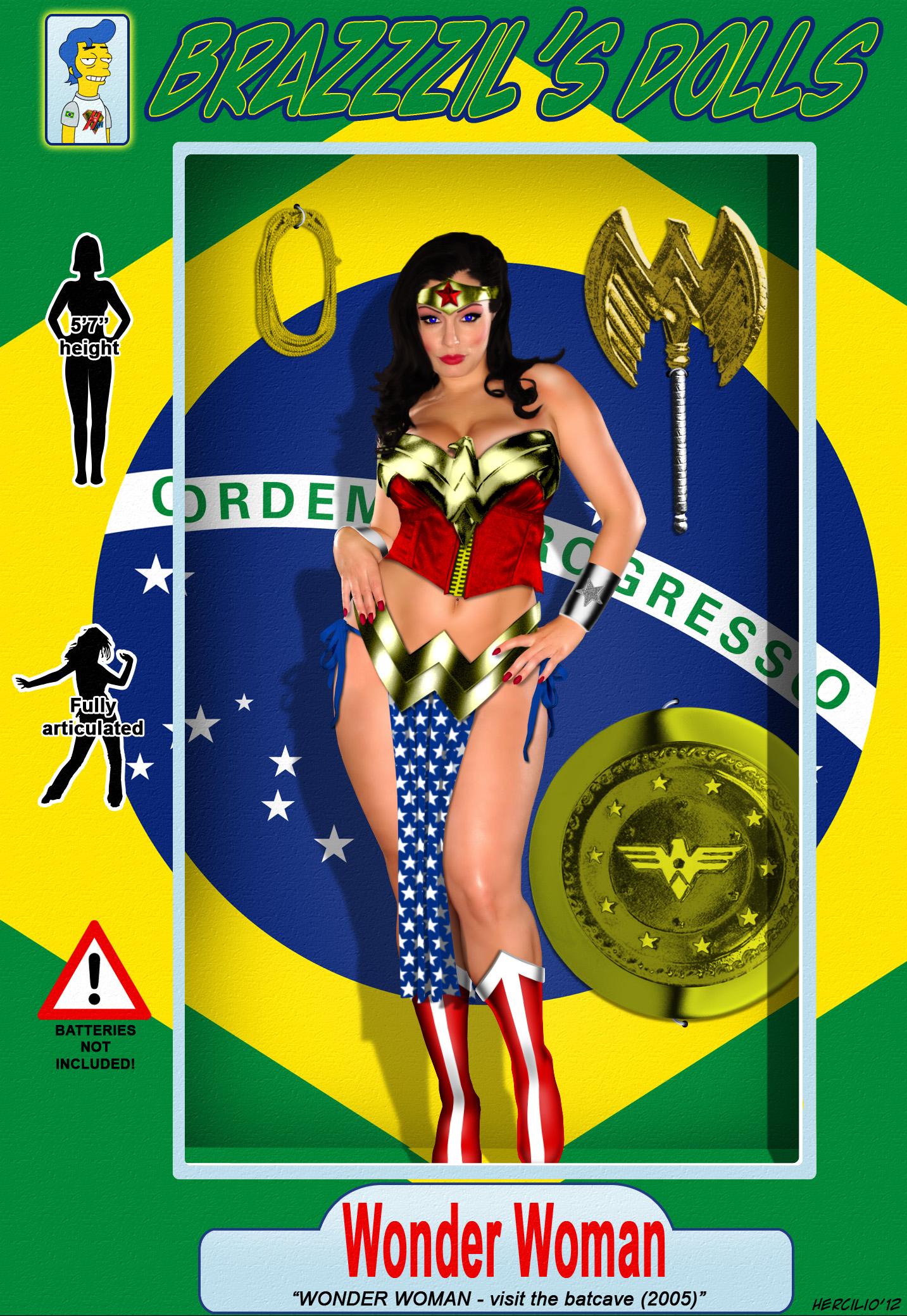 BRaZZZil's Dolls Wonder Woman