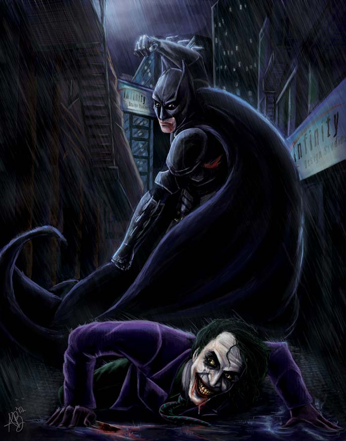 Batman V.S The Joker
