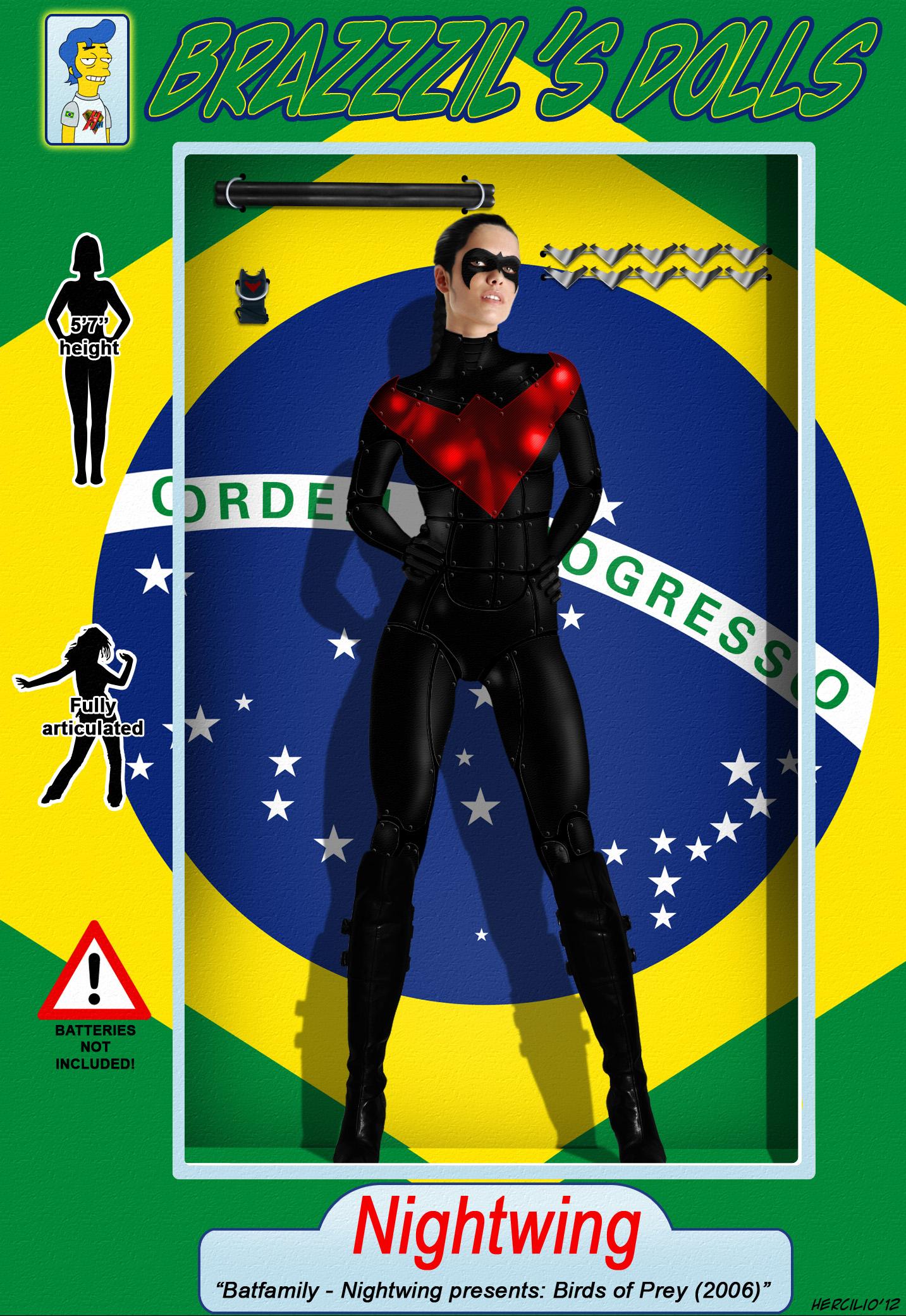 BRaZZZil's Dolls 3 - Nightwing