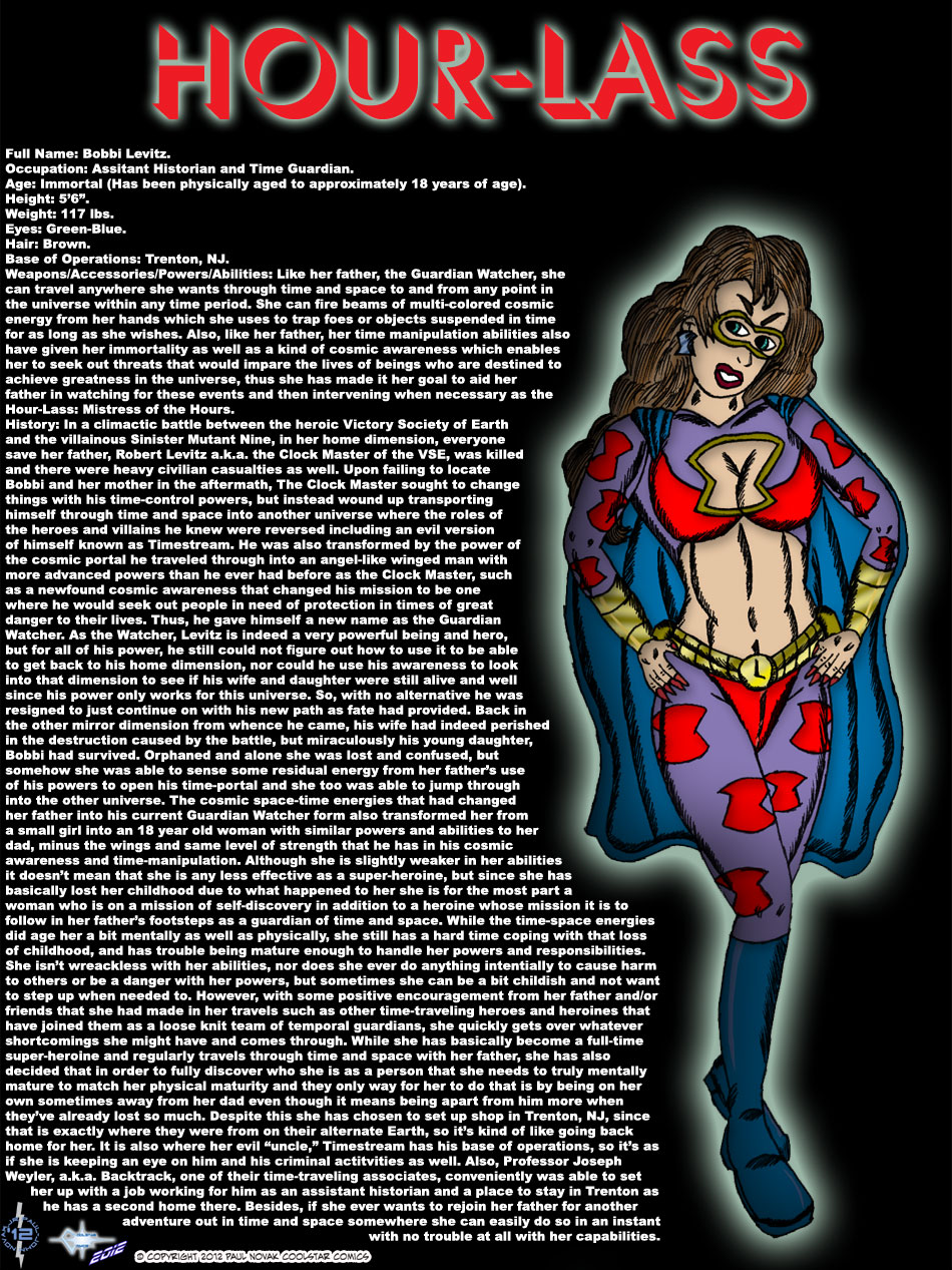 Hour-Lass - A Super-Heroine In Search of Herself