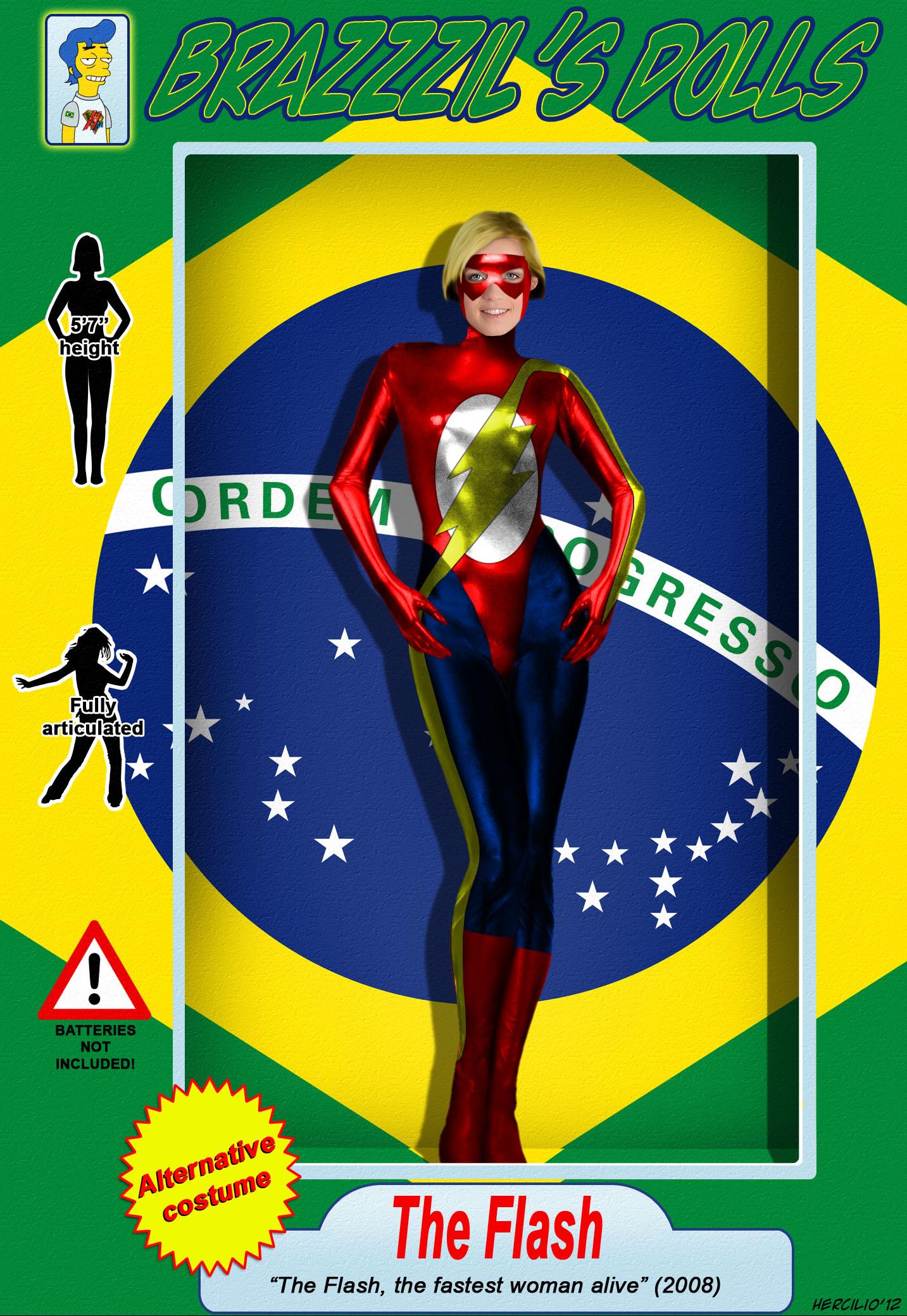 BRaZZZil's Dolls 7.1 - The Flash, Alternative Costume