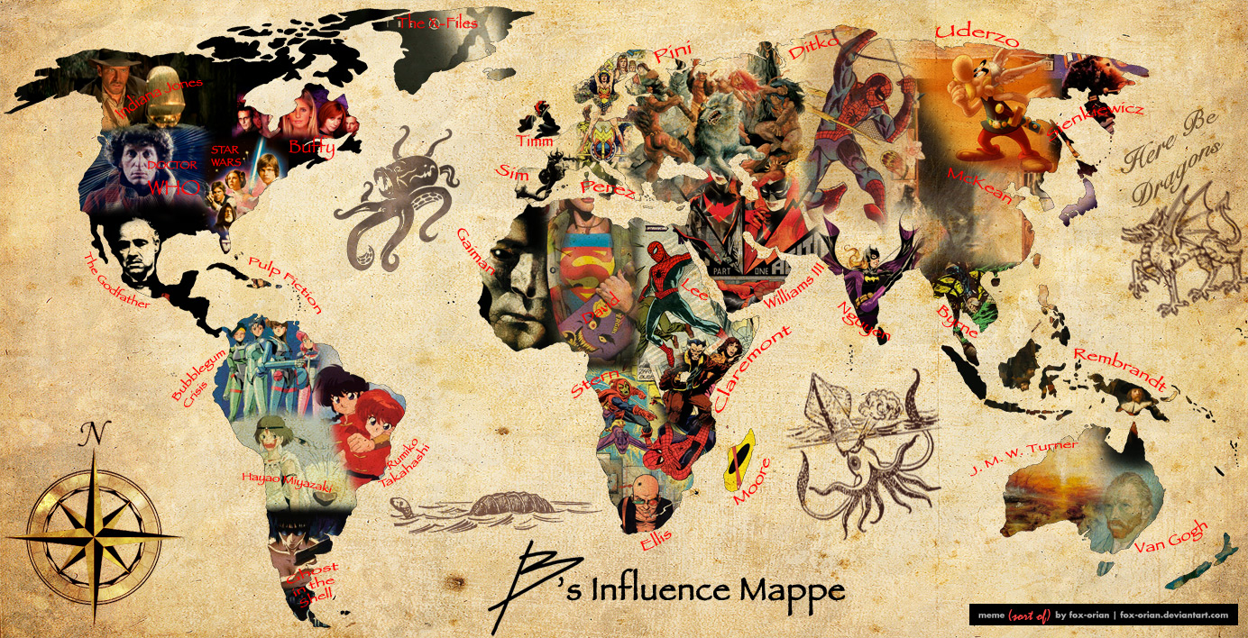 B's Influence Map
