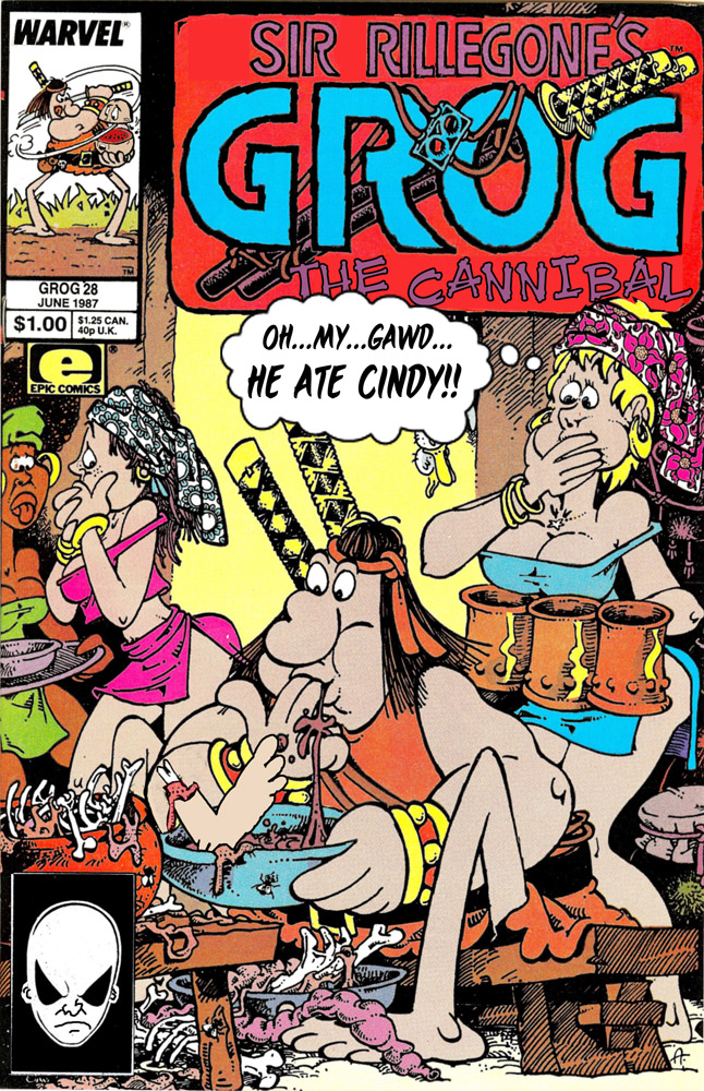 Cover Flip Challenge: Groo-Wanderer to Cannibal