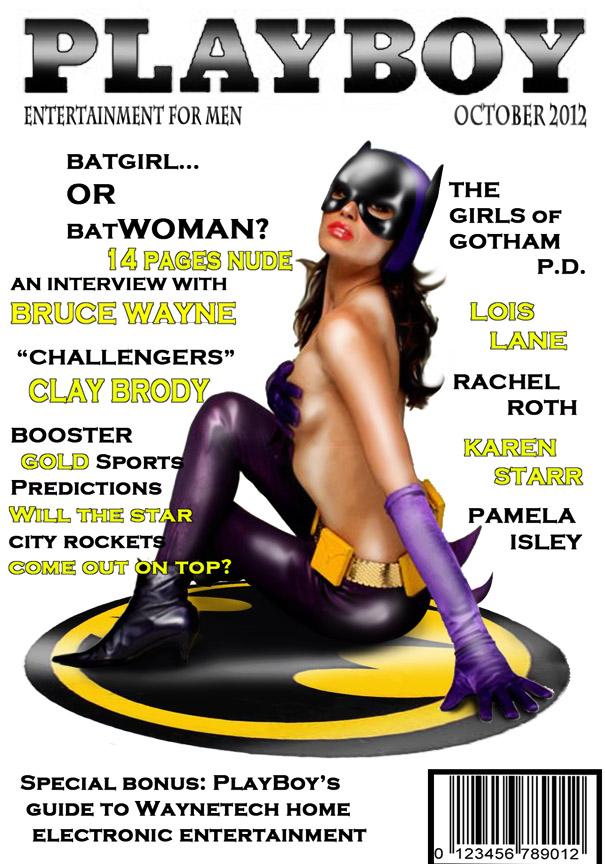 Cover Flip Challenge: Now Bat's Sexy