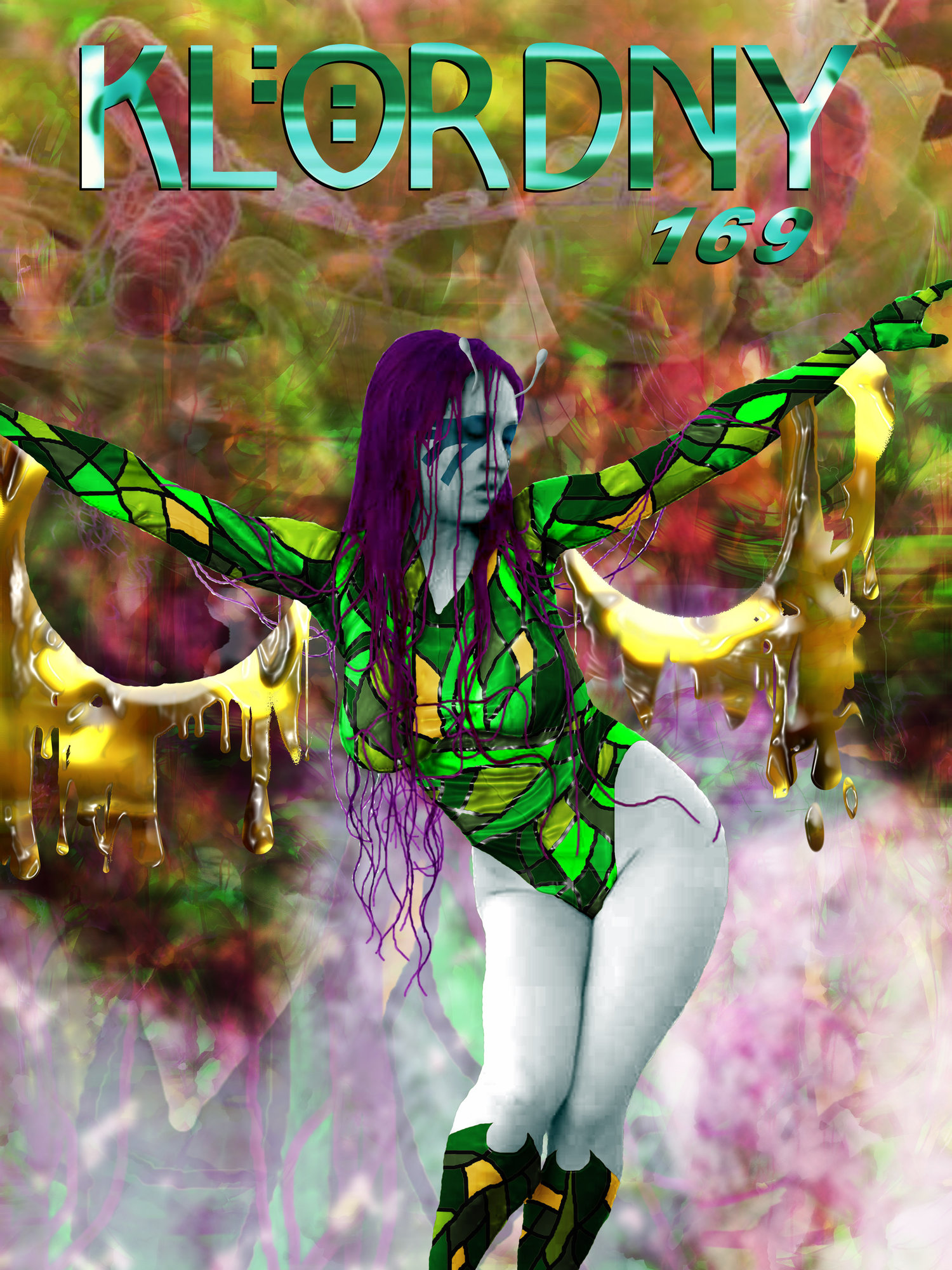 Infectious Lass - Legion of Superheroes