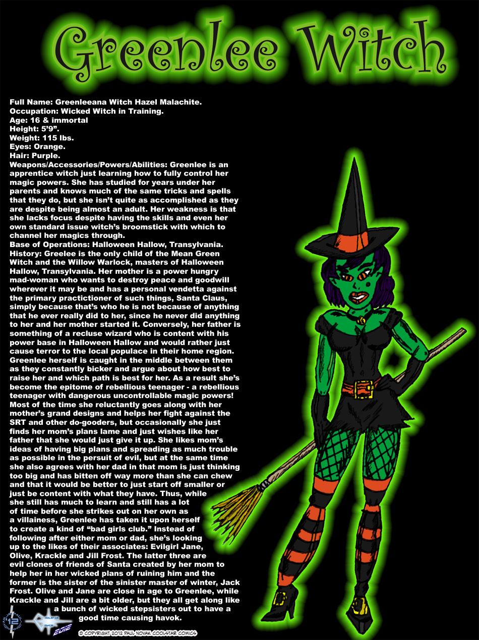 Greenlee Witch