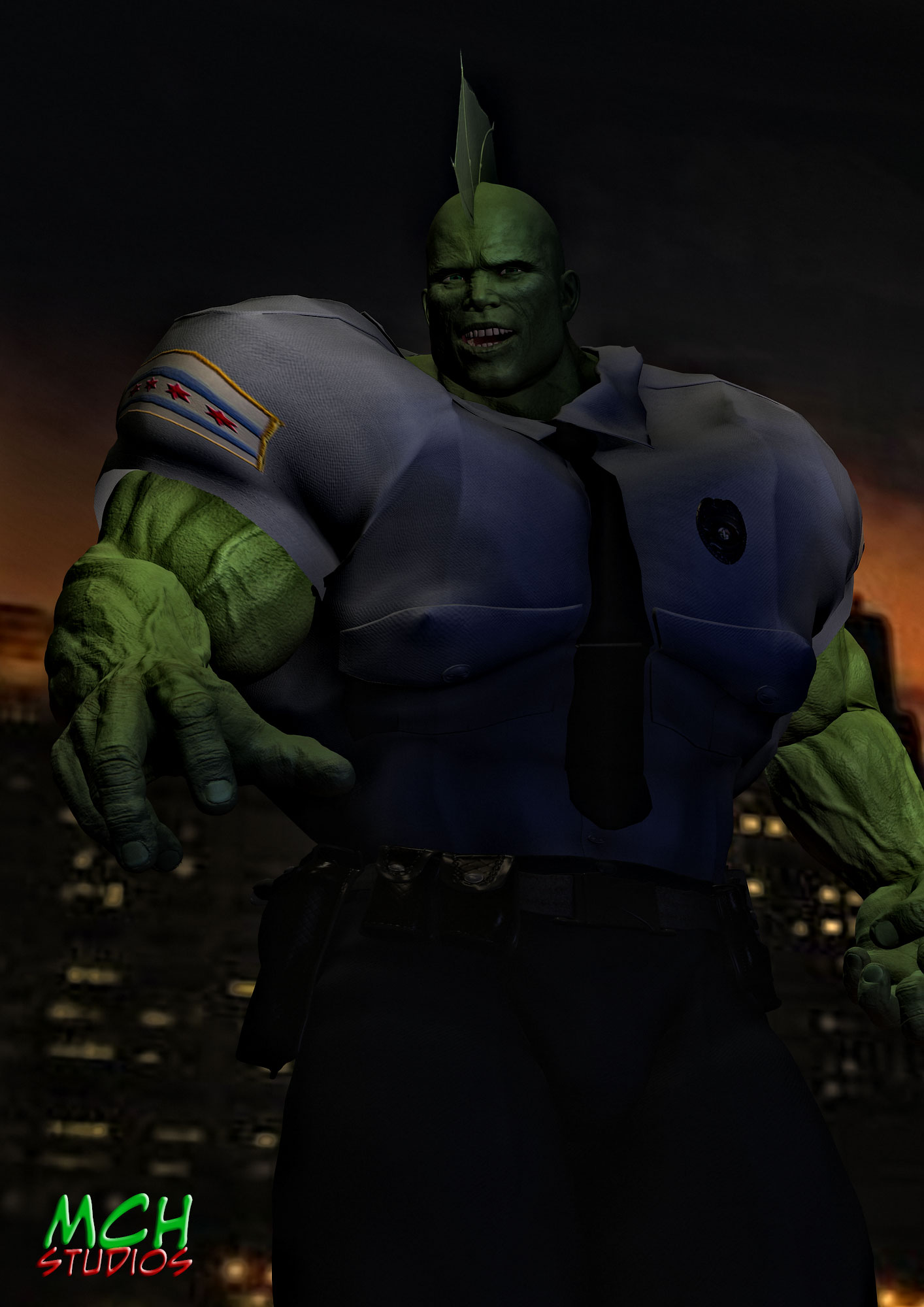 Remember when all the coolest heroes were green?