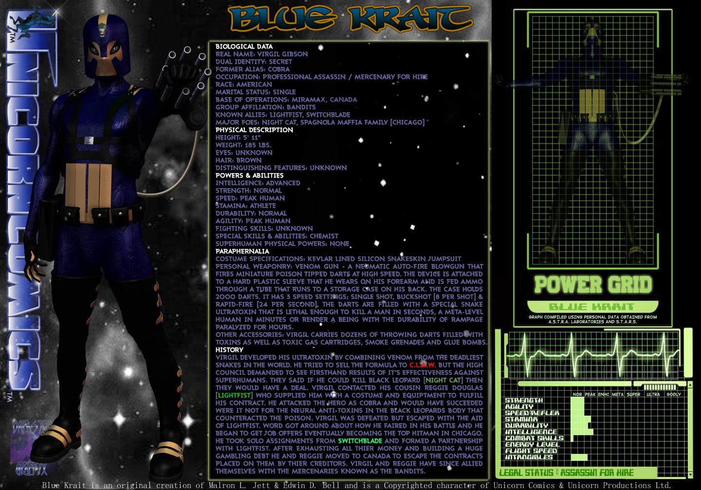 Blue Krait STARcard