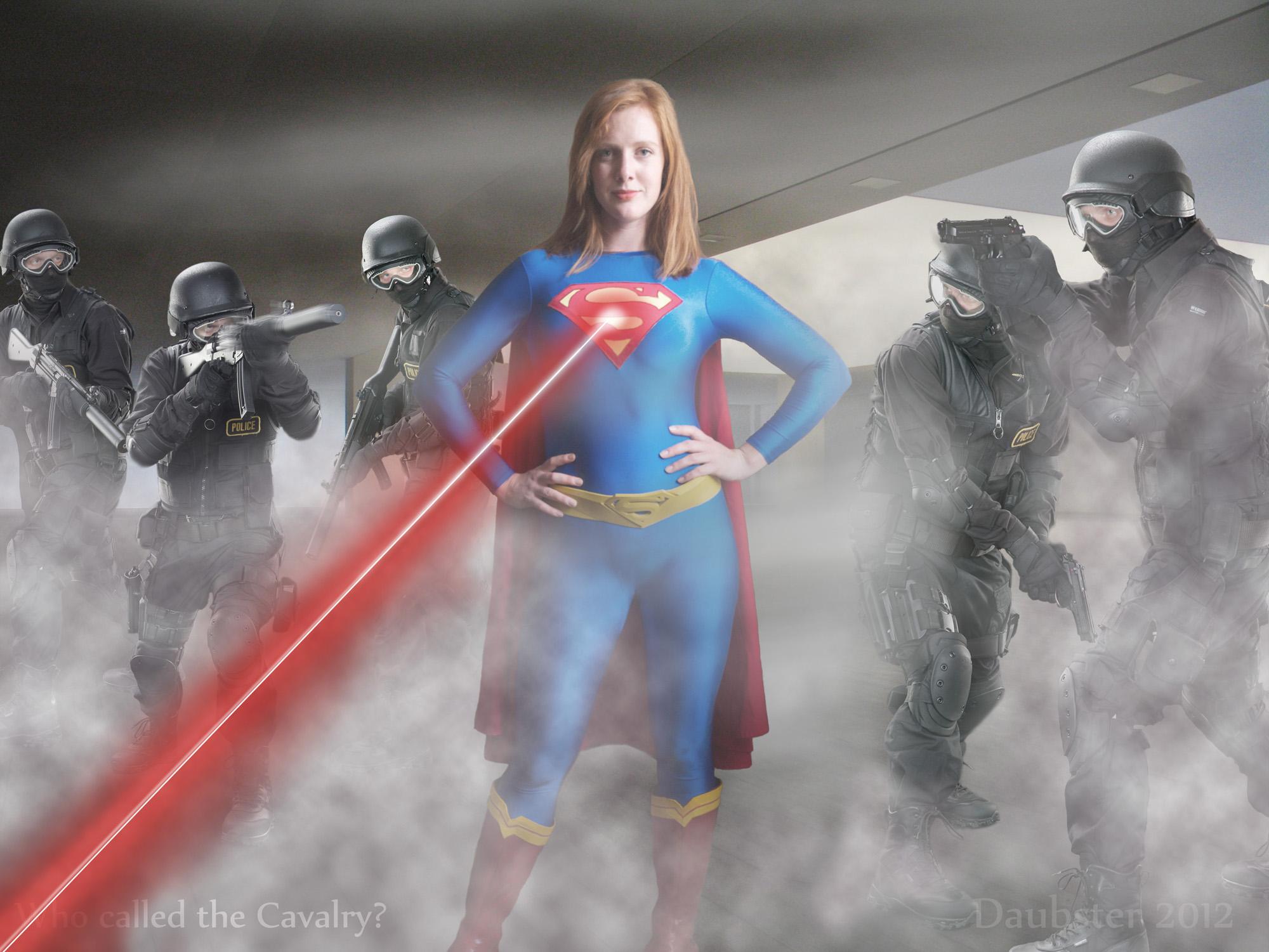 Supergirl -Cavalry